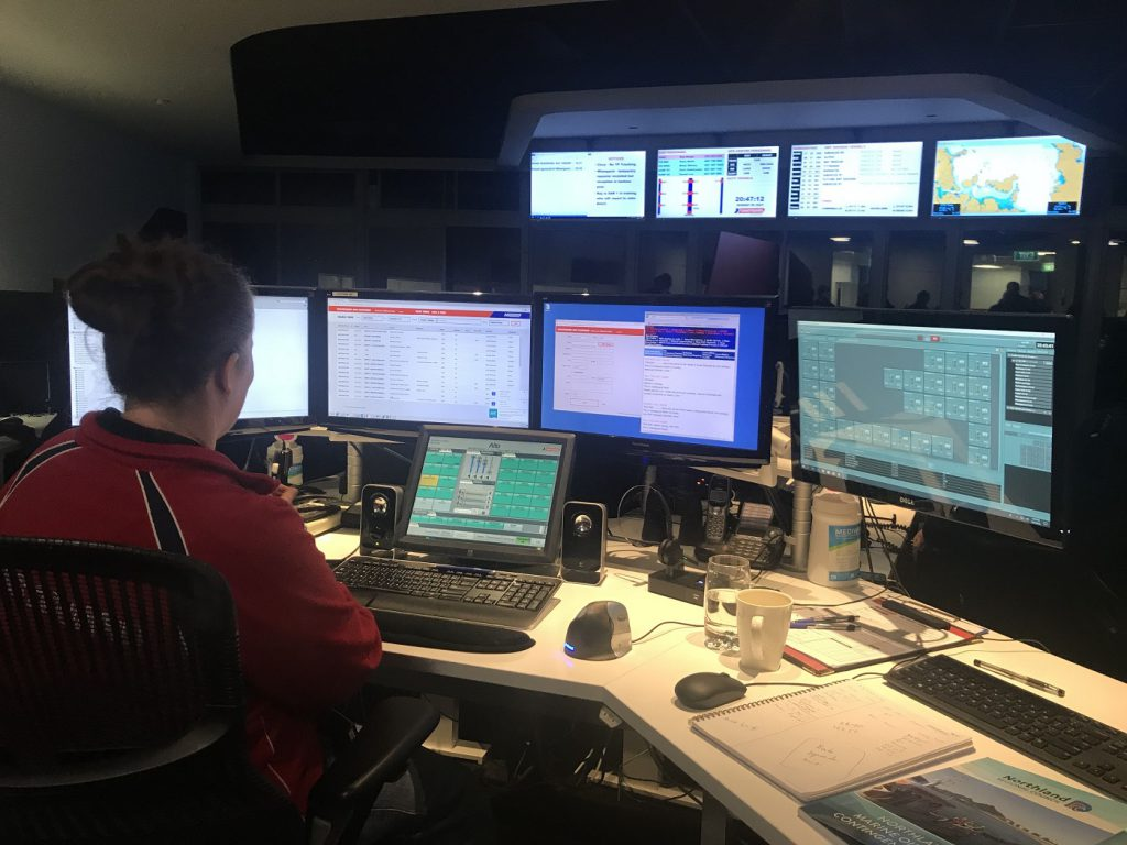 Auckland Coastguard Radio Control and Dispatch System